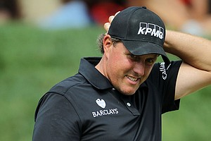 Phil Mickelson opened with 2-over 74 at the U.S. Open at Congressional Country Club.