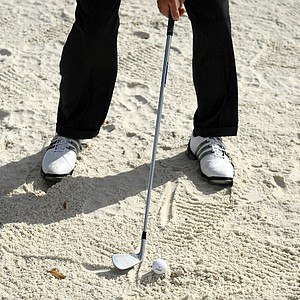 Think you're a good bunker player? Try hitting bunker shots with a 6-iron. This drill makes standard bunker shots look easy