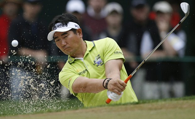 Y.E. Yang during Round 1 of the U.S. Open.