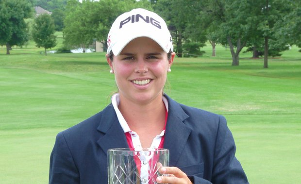 Valentine Derrey earned her first professional win June 17 at the Futures Tour's Tate & Lyle Players Championship.