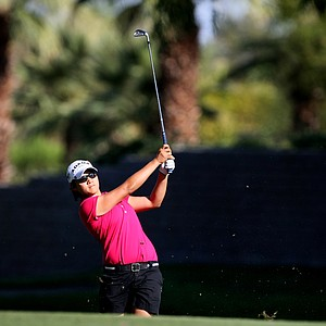 Yani Tseng during the final round of the Kraft Nabisco Championship.