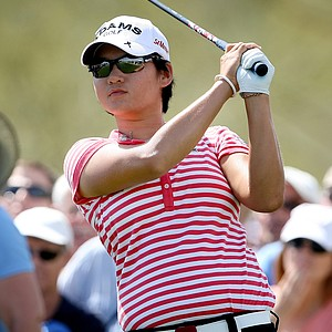 Yani Tseng during Round 1 of the RR Donnelley LPGA Founders Cup at Wildfire Golf club at JW Marriott Desert Ridge Resort & Spa in Phoenix, Ariz.