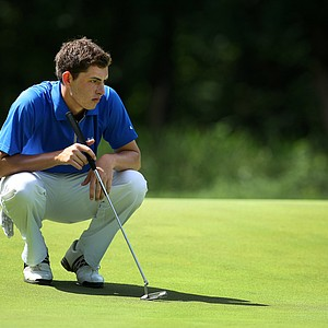 UCLA's Patrick Cantlay at No. 2 during Quarterfinals of Friday's Match Play at the 2011 NCAA Division I Men's Golf Championship at Karsten Creek in Stillwater, Oklahoma.