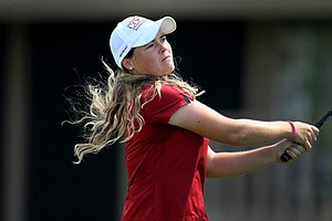 South Carolina's Katie Burnett during the quarterfinals of the Women's Western Amateur.