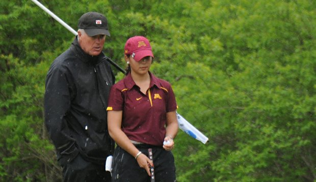 John Harris has resigned as director of golf at the Universtiy of Minnesota, director of athletics Joel Maturi announced Friday.