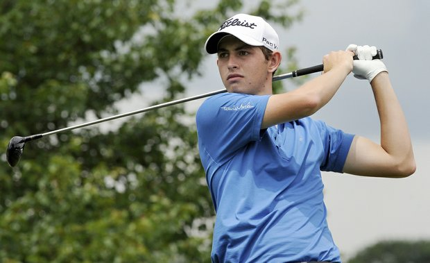 Patrick Cantlay at the Travelers Championship