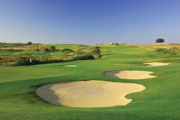 No. 13 of the Links Course at Donnafugata