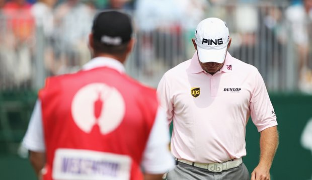 Lee Westwood was among players to miss the cut at the British Open.