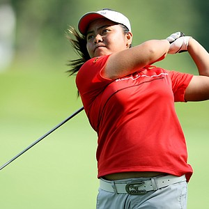Dottie Ardina of the Philippines at the 63rd U. S. Girls' Junior Championship at Olympia Fields Country Club.