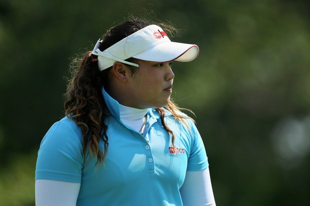 Thailand's Ariya Jutanugarn at the 63rd U.S. Girls' Junior Championship at Olympia Fields Country Club.