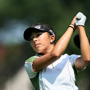 Alison Lee during the Round of 64 at the 63rd U. S. Girls' Junior Championship at Olympia Fields Country Club.