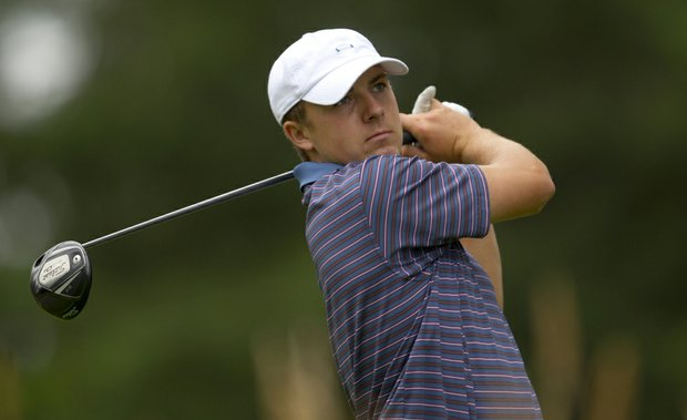 Jordan Spieth during the 2011 U.S. Junior Amateur