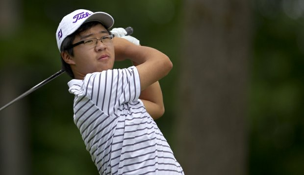 Defending U.S. Junior champion Jim Liu was defeated in the Round of 32.