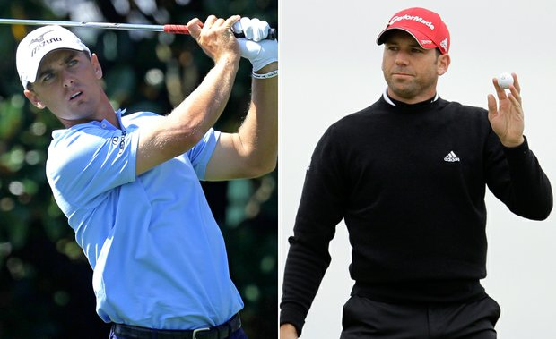 Charles Howell III and Sergio Garcia