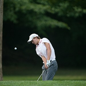 Ryan Celano on the 15th hole during the second round of play at the 36th Junior PGA Championship, at Sycamore Hills Golf Club in Fort Wayne, Indiana, USA, on Wednesday, August 3, 2011.
