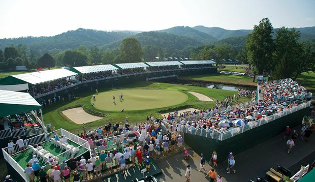 The community and the PGA Tour have embraced the 2-year-old Greenbrier Classic.