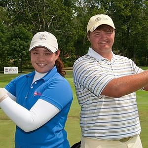 Ariya Jutanugarn and Cody Proveaux
