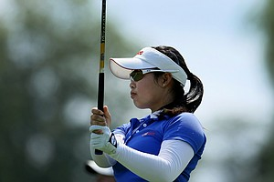 Moriya Jutanugarn during Tuesday stroke play of the U. S. Women's  Amateur Championship at Rhode Island Country Club in Barrington, Rhode Island.