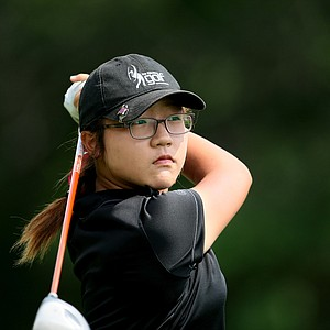 Lydia Ko of New Zealand during Tuesday stroke play of the U. S. Women's Amateur Championship at Rhode Island Country Club in Barrington, Rhode Island.