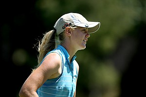 Amy Anderson during the Round of 32 at the U. S. Women's Amateur Championship.