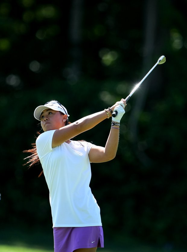 Danielle Kang during the Round of 16. Kang defeated Ha to make the Quarterfinals.