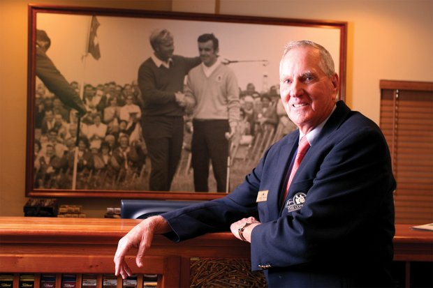 Jimmy Wright, director of golf at The Concession Golf Course. The Concession Golf Club is a Jack Nicklaus course designed in association with Tony Jacklin.(Photo by Tracy Wilcox/GOLFWEEK)