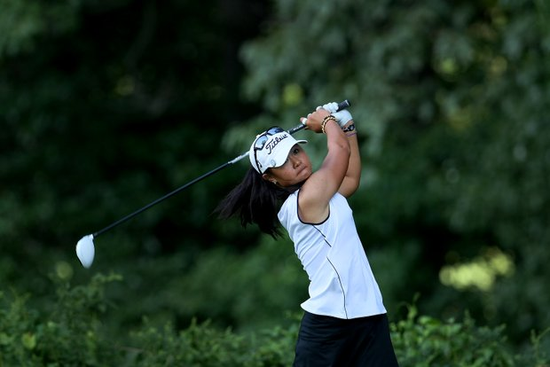 Defending Champion, Danielle Kang during the Quarterfinals. Kang advanced by defeating Demi Frances Runas, 4 & 3.