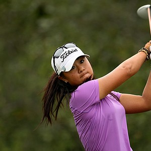 Danielle Kang during the semifinals at the U. S. Women's Amateur Championship at Rhode Island Country Club in Barrington, Rhode Island.