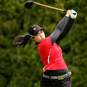 Moriya Jutanugarn during the Semifinals at the U. S. Women's Amateur Championship at Rhode Island Country Club in Barrington, Rhode Island.