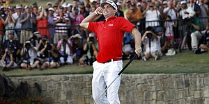 Keegan Bradley in 2011, in photos