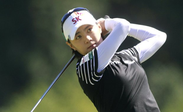 Na Yeon Choi during Round 1 of the Safeway Classic
