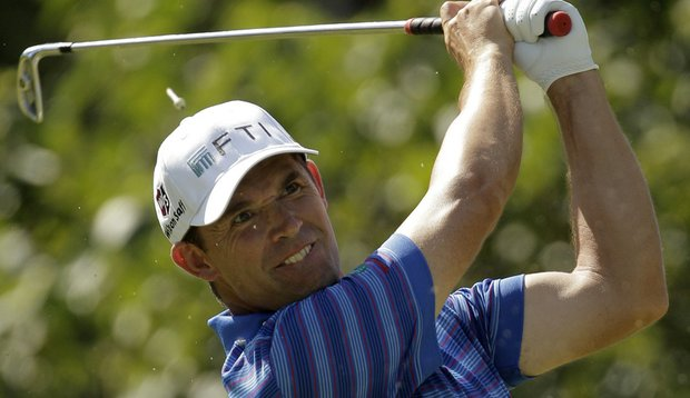 Padraig Harrington during the PGA Championship.