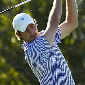 Max Buckley during the Round of 16 at the U.S. Amateur.