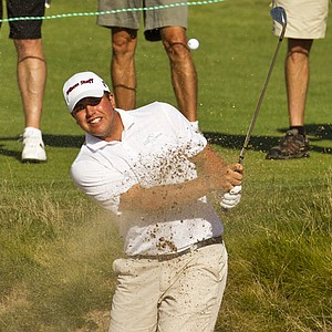 Jack Senior during the semifinals of the U.S. Amateur.