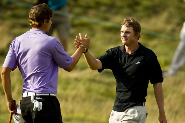 Peter Uihlein and Jordan Russell
