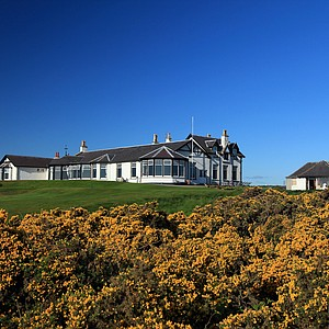 The Clubhouse at Royal Aberdeen Golf Club on May 12, 2011 in Aberdeen, Scotland.