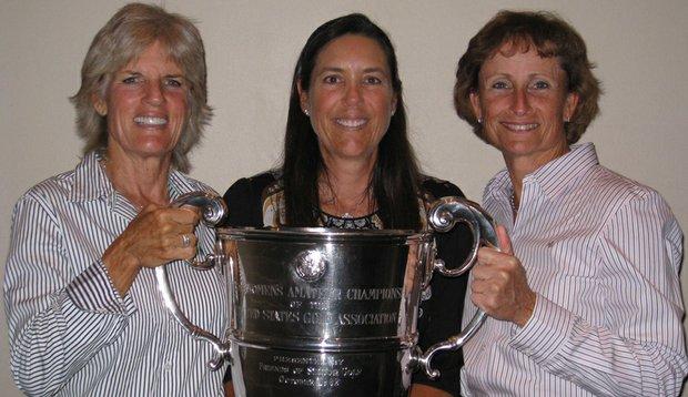From left: Carolyn Creekmore, Mina Hardin, Anna Schultz