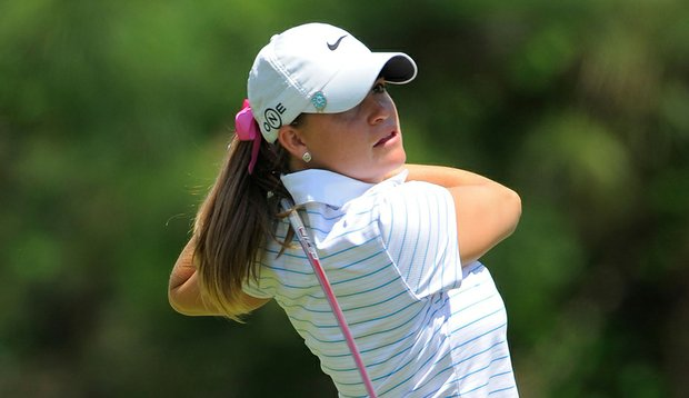 Jackie Barenborg takes a one-shot lead into the final round of the Price Chopper Tour Championship.