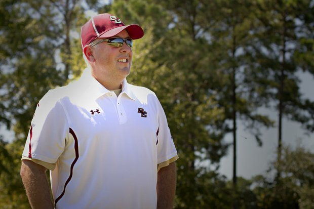 He turned around Hartford. He turned around Long Beach State. Now Bill Poutre's next job is to turn around Boston College. His first chance to show off is this weekend at the Golfweek Program Challenge.