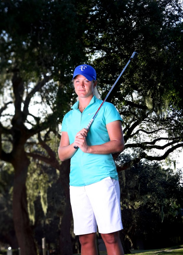 Suzann Pettersen will compete in the Solheim Cup in Ireland, September 23-25.