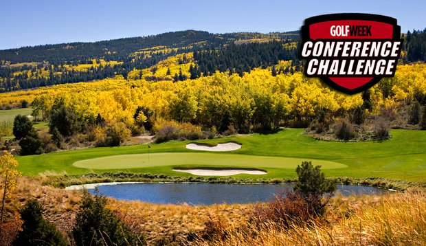 Hole No. 17 at Red Sky Golf Club in Vail, Colo.