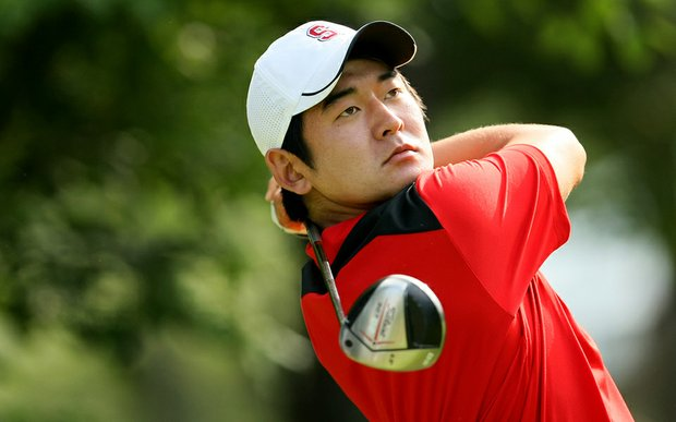 Andrew Yun during the 2010 NCAA Championship