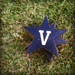 Vanderbilt tee markers on the tee box during the Mason Randolph Fall Preview.