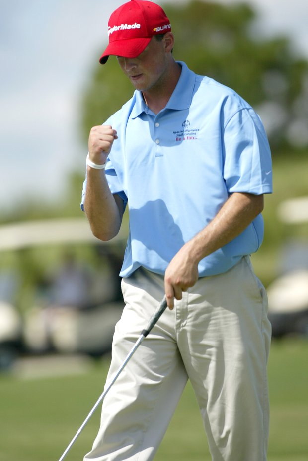 Scott Rohrer from South Carolina during the 2011 Special Olympics Invitational Golf Tournament held at PGA Golf Club in Port St. Lucie, Florida, Sunday, September 25, 2011.