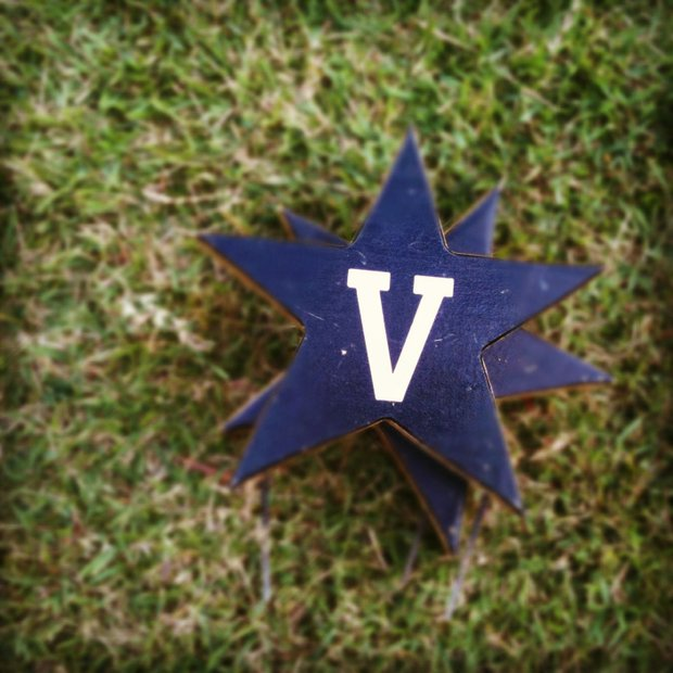 The Vanderbilt tee markers for the fall preview.