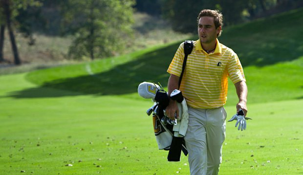 Stephan Jaeger during Round 1 of the <em>Golfweek</em> Conference Challenge