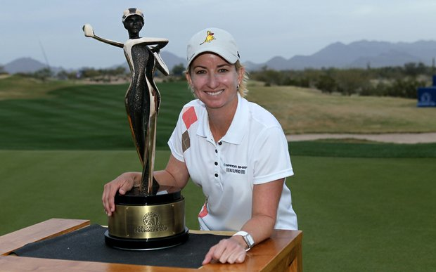 Karrie Webb won the inaugural RR Donnelley LPGA Founders Cup.