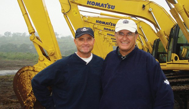 Brian Curley (left) and Lee Schmidt