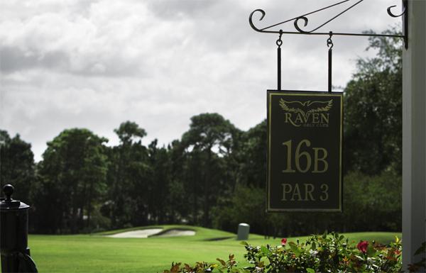 View of hole 16b at the Raven Golf Club at Sandestin Golf & Beach Resort