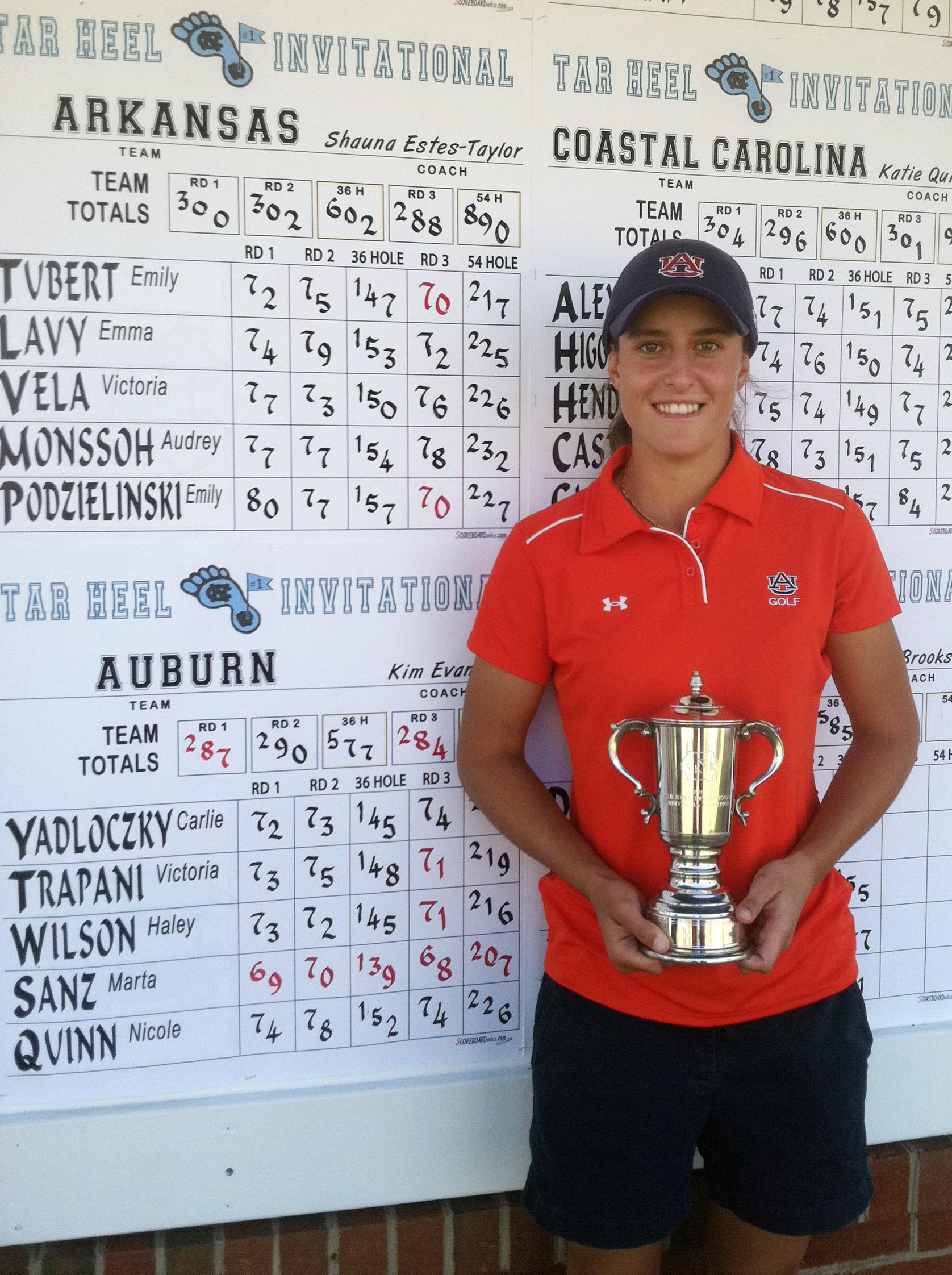 Auburn's Marta Sanz